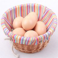 Wholesale Hot Sale Faux Fake Simulation Eggs Food Dummy Kitchen Party Wedding Home Decoration