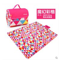 Wholesale Leisurely of moisture proof pad outdoor picnic mat double picnic mats waterproof folding lawn thickening cushion