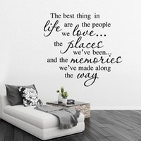 best decorated bedrooms - aw9394 trade wall stickers Best life quotes to decorate the living room bedroom wall stickers custom