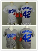robinson - 2015 New Top quality youth jersey Los Angeles Dodgers Jackie Robinson kids jersey Baseball Jersey Embroidery