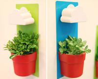 Wholesale plastic pots for plants flower pot bonsai vertical garden rainy pot vasos decorativos de flores garden pots wall pots home decor