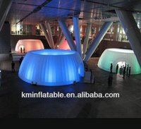 Wholesale LED inflatable dome tent inflatable display tent with LED light inflatable trade show tent inflatable tent room