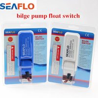 Wholesale SEAFLO Bilge Pump Float Switch V V or V for Boat Yacht with Retail Box Blue and White Color Available Blue and White