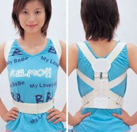back and shoulder support - make beautiful children and women Magnetic Back Shoulder Corrector Posture Orthopedic Support Belt Brace