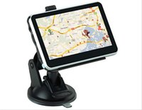 Wholesale 4 Inch Car GPS Navigation Glonass Touch Screen FM Mp3 Mp4 AV IN Bluetooth GPS Free Map AND GB Card GPS Navigator For Vehicle