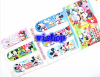 Cheap Hot 6 pcs set Mickey Minnie Cartoon Bookmarkers, Learning Filing Supplies,for Books Pages Holder,Kids Gifts Toys