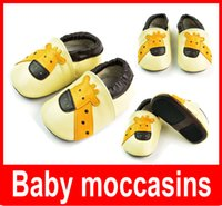 Wholesale New Kids shoes Baby moccasins soft sole moccs genuine leather prewalker booties toddlers babies infants fringe cow leather moccasin shoes