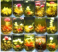 Wholesale styles kinds Blooming tea Technology Scented tea Art Jasmine flower Tea Art viewing Blossom Flower ProcessTea
