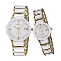 daydate - 2016 Daydate Stainless Steel Butterfly clasp Famous Brand Mens Wrist Watch HRITO Japanese Automatic business men White ceramic watches