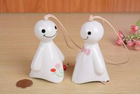 wind chime - Q1203 sunny ceramic wind chimes creative Japanese cartoon cute girl gifts wind chimes car ornaments