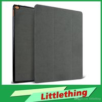 anti fingerprint ipad - New Ipad Pro Leather Case cover Flip Case for ipad Pro Tablet PU Leather Case Laptop case Anti Dirt fingerprint Durable Case