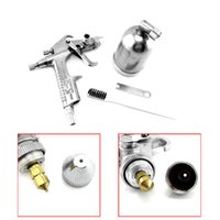 Wholesale Mini Spray Gun Handle Sprayer Air Brush Alloy Painting Paint Tool Professional mm Nozzle Express Shipping