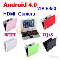 android os netbook - DHL free Arrival Laptop Google Android OS VIA Computer for Students Notebook inch Netbook MB GB G wifi HDMI Multi