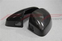 audi mirror replacement - Replacement style carbon fiber mirror covers for Audi A3 with Lane change assist on mirror