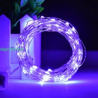 Wholesale Led String Light AA Battery Operated m leds Fairy String Lights Lamp For Christmas Wedding Party Decoration Lights