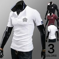 Cheap Summer New Brand Men Menswear Polo 2014 Fashion 100% Cotton High Quality Short Sleeve Male Polo Slim Shirts Big Size M-XXL