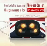 Wholesale 2015 KMR charge wireless multifunction massage pillow car cushion sofa cushion pillow massage pillow Kang Meirui