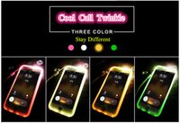 metal bracket - Cool New Style Twinkle Cell Phone Cases for Iphone6s s Plus Iphone6 Plus Iphone5 s Soft TPU Material with Bracket of Metal Ring