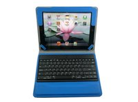 Wholesale New Bluetooth Keyboard Cases for Ipad2 Folding Tablet PC Cover Cases Separable Design for Sale ZL B