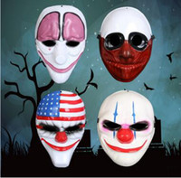 bar back pay - Men Cool Halloween Party Masks Bar Club Party Pay Day Mask for Halloween Graduation Outdoor Activities Show Masks