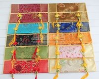 Wholesale WHOLESALE10pcs Chinese HANDMADE Classic Silk Tissue Box CoverS