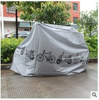 Wholesale 2 colors Hot Selling Waterproof bike clothing covers Car motorcycle Electric bicycle cover anti dust cover Dust Cover LJJC1316