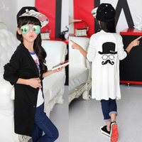 big o computer - Girls Long Cardigan Cartoon Long Sleeve Tops For Korean Big Children Single breasted Casual Clothes Big Kids Fit Age K811