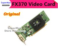 Wholesale Original NVIDIA Quadro FX370 MB PCI E D Video Graphic Card With DMS to DVI Cable FX370 Year Warranty order lt no track