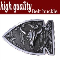 american red bull - High quality Retail Original Arrowhead Bull Native American Belt Buckle Factory Direct Fast Delivery
