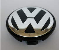Wholesale 4pcs mm VW wheel center cap hub cap For Volkswagen Logo badge emblems EOS Golf Jetta Mk5 Passat B6 VW B7
