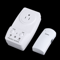 Wholesale New V V Electric Wireless Remote Control Power Outlet US Plug Socket Switch Set for Lamps Household Appliance