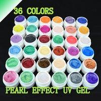 Wholesale 1pc Perfect Pearl UV Gel Nail Gel Polish LED UV Nail Gel Long Lasting Hot Sale Gel Lacquer DIY Nail Art F21182