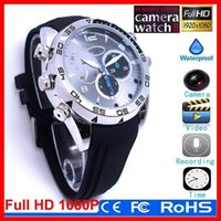 Wholesale 2015 Newest Sale GB HD P Waterproof Spy Watch Camera with IR Night Vision Hidden Cam