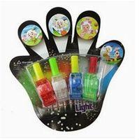 Wholesale LED Christmas Lights Toy Lamp Magic Finger Lights Finger Laser Lights Finger Ring Light
