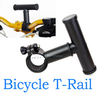bicycle flashlight mounting bracket - T rail plastic handlebar adapter LED Flashlight bicycle light mount lamp base extension Holder Rail Bracket Holder Clip Clamp