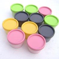 Wholesale 150pc g cylinder mask PP bottle facial mask cream jars containers LUSH split charging jars supplier PP jar cream jar