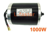 electric tricycle - 36V48V W Electric Motor High speed DC Motor Fits EVO Scooter Extreme MY1020 Tricycle Chain Drive Scooter Engine T Gear