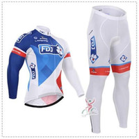 Wholesale TOP quality uhc BRAND winter Fleece Pro Team cycling jersey long sleeve Cycling clothing Long Sleeve Cycling Jersey fleece