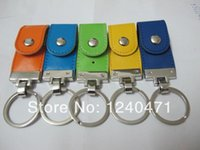 Wholesale 1pcs new Large rings leather real capacity GB GB GB GB GB GB GB USB Key Memory Stick Flash Pen Drive USB memory stick