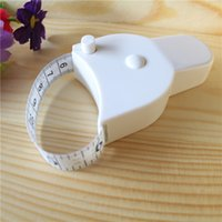 Wholesale High Quality m Fitness Accurate Body Fat Caliper Measuring Body Tape Ruler Measure Tape Measure White Body Fat Caliper MM021