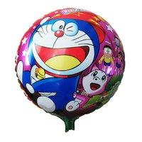 air free dreams - 1pc Children s Toys Cartoon Viking Duo a Dream Foil Balloons Cartoon Birthday Decoration Globos Air Balloons Toys