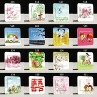 Wholesale switch decoration film doodle wall stickers pc