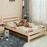 Wholesale Children Solid Wood Bed cute little boy and girl twin Bed modern furniture children s bedroom