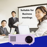 Wholesale Mini projector Native Resolution home Cinema Projector FULL HD Projector Lumens supports and wiimote
