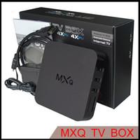 Wholesale MXQ Smart TV Box Kodi Amlogic S805 Quad Core GB GB Fully Loaded WiFi P Media Player Android TV Box Media Player