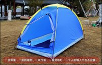 Wholesale New Outdoor Camping Fishing Tent Single Layer Waterproof Portable UV resistant Tents