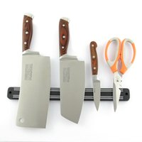 Wholesale Hot sale cm Magnetic Knife Scissor Holder Tools Chef Rack Wall Mounted Strip