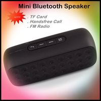 pc speaker - Mini Portable Bluetooth Speaker MP3 Music Player Subwoofer Bass FM Radio TF Card Slot with Microphone Handsfree for Smart Phone Tablet PC