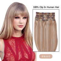 affordable clip in hair extensions - 8A Clip In Hair Extensions Clip In Human Hair quot Silky Straight Hair Weaves Remy Hair Affordable Price