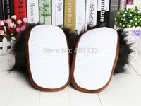 adult bunny slippers - Pair quot My Neighbor Totoro Ghibli Dust Bunny Adult Plush toys Doll Slipper Totoro slippers BLACK totoro dust bunny slippers